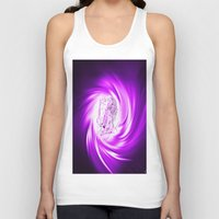 erotic Tank Tops featuring Space and time 8  Erotic by Walter Zettl