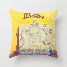 Madeline. Throw Pillow