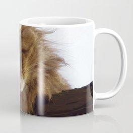 Curious Maine Coon Cat Coffee Mug