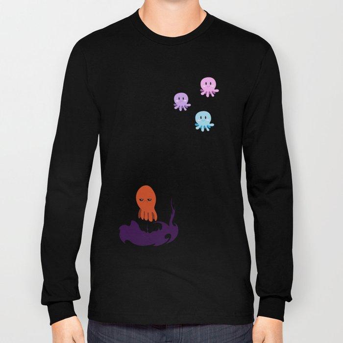Octopus Mood Long Sleeve T-shirt