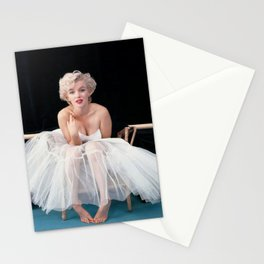 Marylin Monroe Ballerina Poster, Quality Print, American icon, actress, Vintage Art Photography, Home Décor Stationery Cards