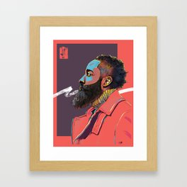 Jazzy Harden Framed Art Print