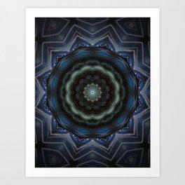 Indigo Soul Art Print