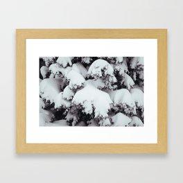 Heavy Snows Framed Art Print