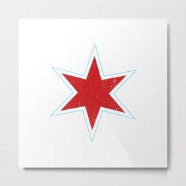 Chicago Star Metal Print