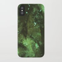 pisces iPhone & iPod Cases featuring Pisces by Elika