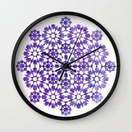 IG purple Wall Clock