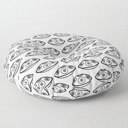 Handpan Space Drum Floor Pillow