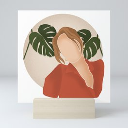 Sasha Alexander Mini Art Print