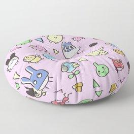 Tamagotchis Floor Pillow