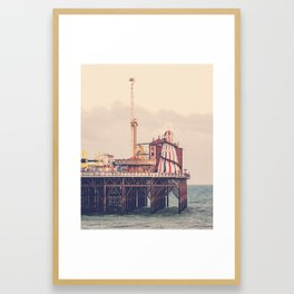 Brighton Palace Pier Framed Art Print