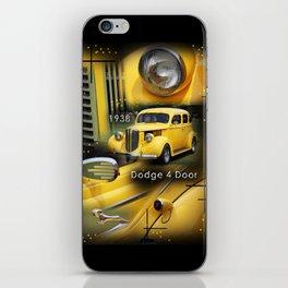 1938 Dodge 4 Door  iPhone Skin