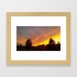 East Set Framed Art Print
