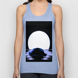 The  Whispering  Moon Unisex Tank Top