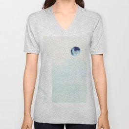 Ice Moon Unisex V-Neck