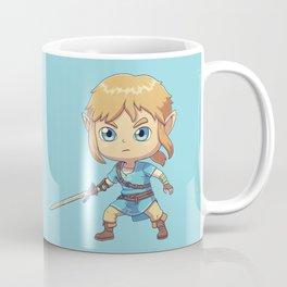 Little Hero Link // RPG, Gaming, Fantasy, Chibi Coffee Mug
