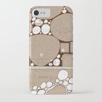 blueprint iPhone & iPod Cases featuring Rock Blueprint by Finn Wild