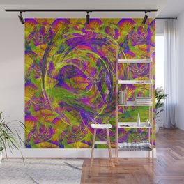 Emotions above light and shadows Wall Mural