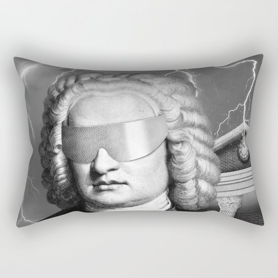 Bach To The Future (New Version) Rectangular Pillow