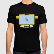 Soundwave Transformers Minimalist X-LARGE Mens Fitted Tee Black