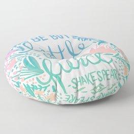 Little & Fierce – Lavender Mint Ombré Floor Pillow