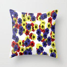 Freya Flower Fall Throw Pillow