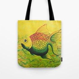 LEONARD-GONZA - FISH Tote Bag