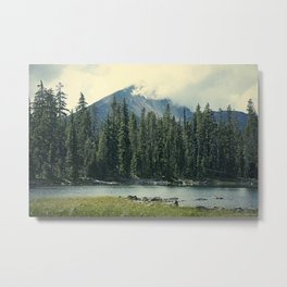 Mt Mcloughlin Metal Print