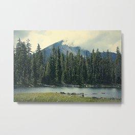 Mt Mcloughlin Metal Print