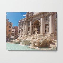 Trevi Fountain Metal Print