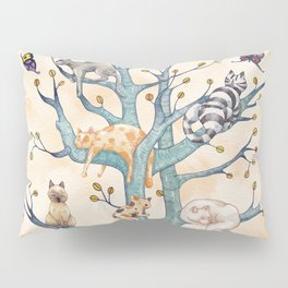 The tree of cat life Pillow Sham