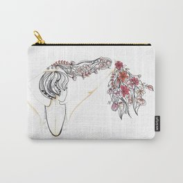 rose shower Carry-All Pouch