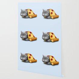 Purrpurroni Pizza Wallpaper