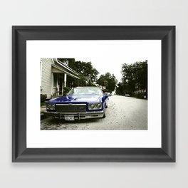 Chevrolet convertible Framed Art Print