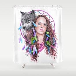 Heather Shower Curtain