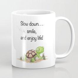 Smiling Turtle Coffee Mug