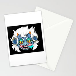 Erzaby the Blue Oni Stationery Cards