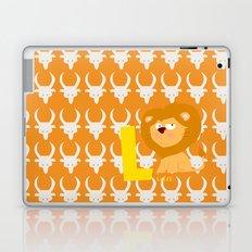 l for lion Laptop & iPad Skin