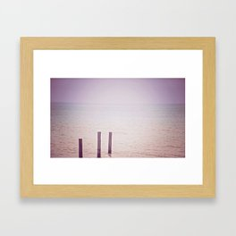 #3 Post Framed Art Print