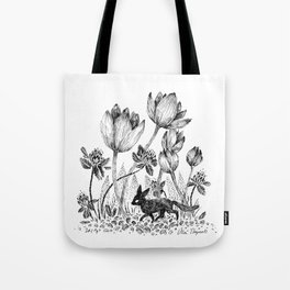 Tiny Fox Tote Bag