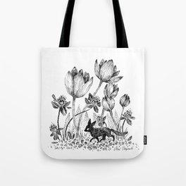 Tiny Fox Tote Bag