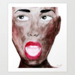 Best Of Lips Art Print