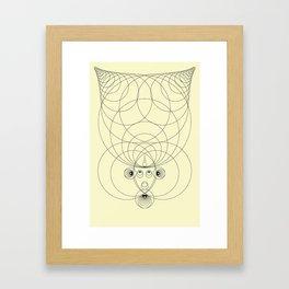MatiereNoire BETA 2 Framed Art Print