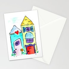 Apt 4A Watercolor Stationery Cards