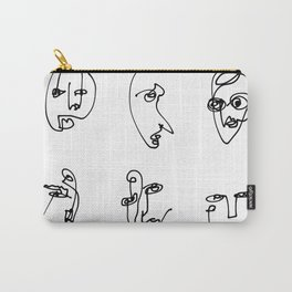 Faces Collection - Family Carry-All Pouch