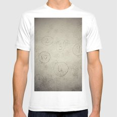 Ball Skill MEDIUM White Mens Fitted Tee