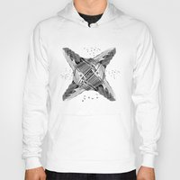 architecture Hoodies featuring kaleidoscope  architecture by Vin Zzep