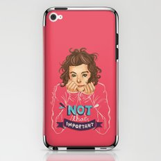 Not That Important iPhone & iPod Skin