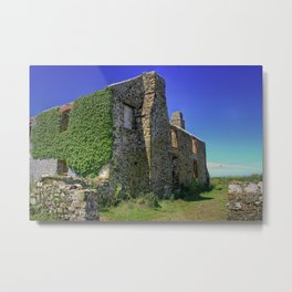 Old ruined Farmhouse Metal Print