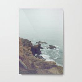 moody seas Metal Print